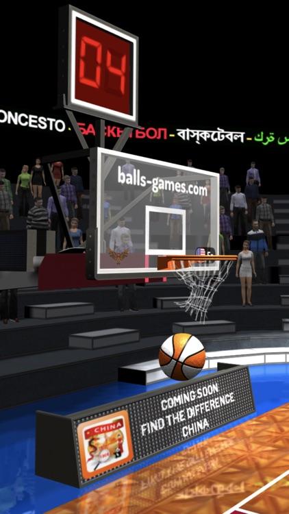 Basketball 3D Shooting Contest screenshot-6