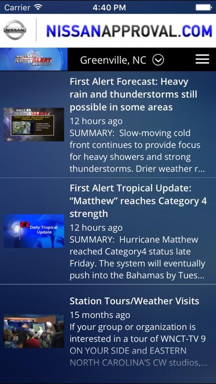 First Alert 9 - weather, forecasts, and radar screenshot-4