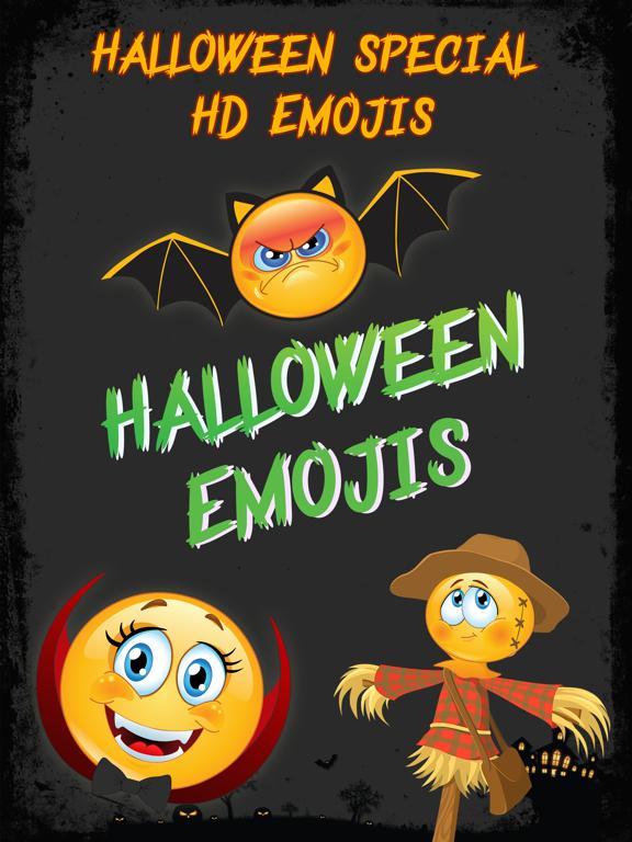 Halloween Emojis - Scary Emoji Icons & Stickers! | App Price