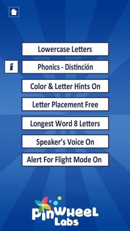 Spanish First Words with Phonics screenshot-4