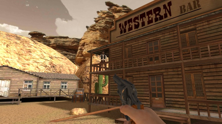 Wild West VR - Cardboard screenshot-3