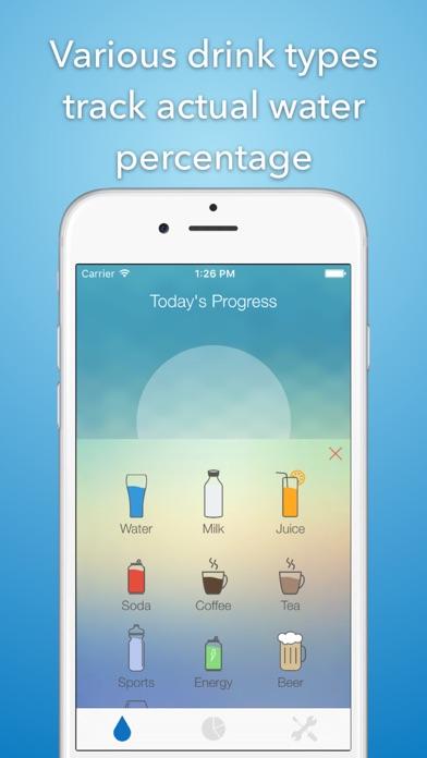 iHydrate -Daily Water Tracker & Hydration Reminderのおすすめ画像1