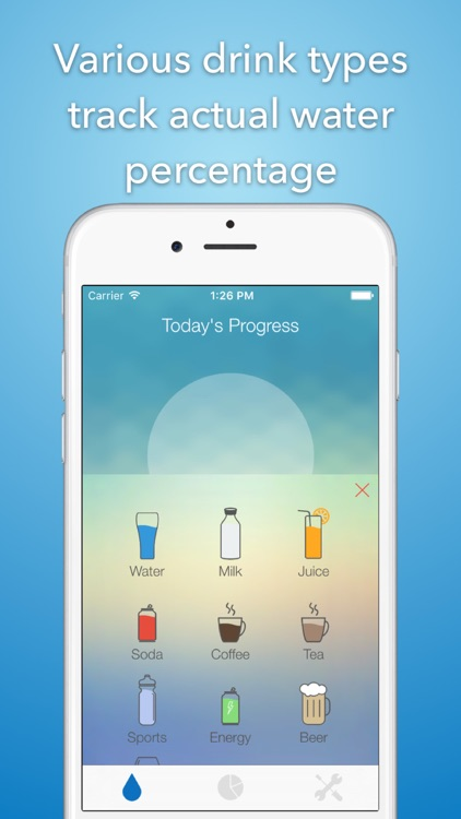iHydrate -Daily Water Tracker & Hydration Reminder screenshot-0