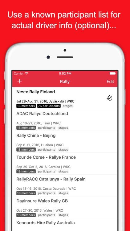 RallyTime Pro: Ski & Rally Car Timing