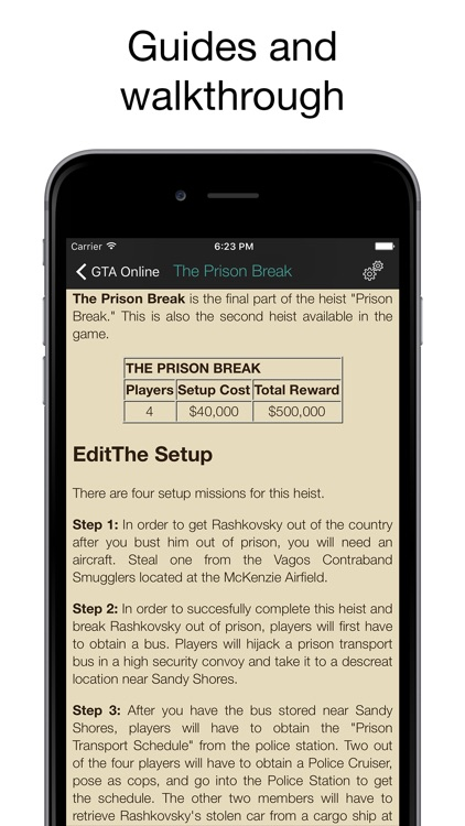 Pocket Wiki for GTA V & GTA Online screenshot-3