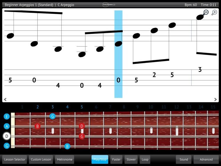 Learn & Practice Mandolin Guitar Lessons Exercises screenshot-3