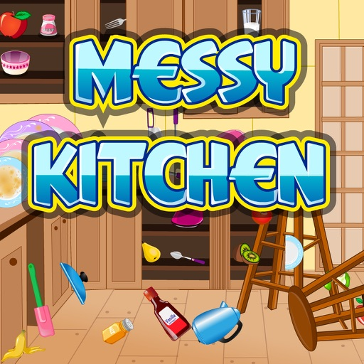 Ktivhen Messy: Messy Kitchen By Color Girl Games