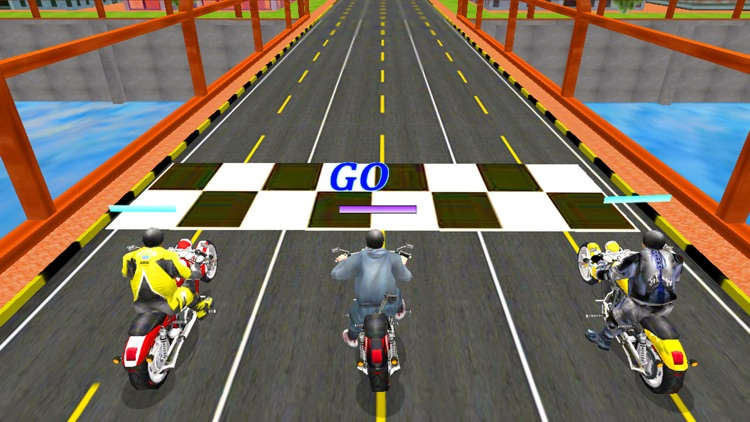 Moto Bike Attack Racing screenshot-4