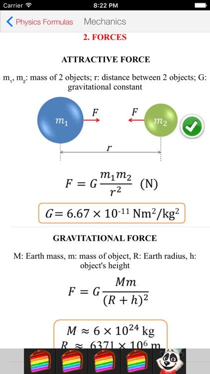 Physics Formulas Free