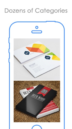 Free business cards design best bizcard catalog on the app store free business cards design best bizcard catalog on the app store colourmoves