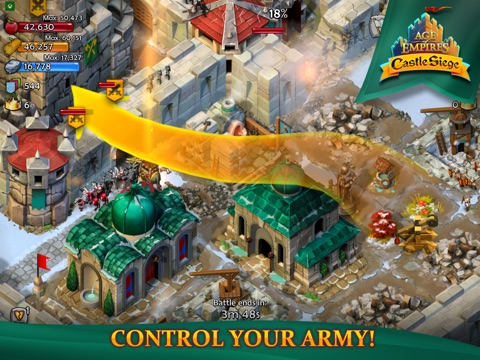 Age of Empires: Castle Siege на iPad