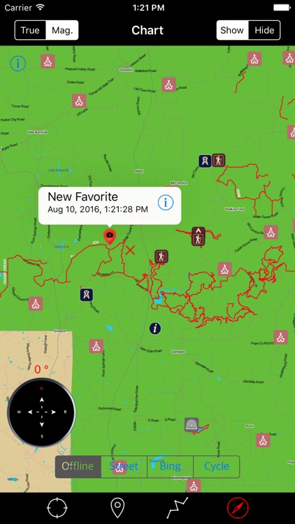 Shawnee National Forest – GPS Offline Navigator screenshot-3