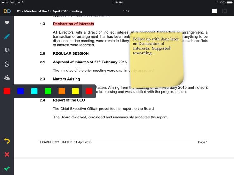 Directors Desk screenshot-4