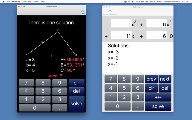 Scientific Graphing Calculator 2 on the Mac App Store
