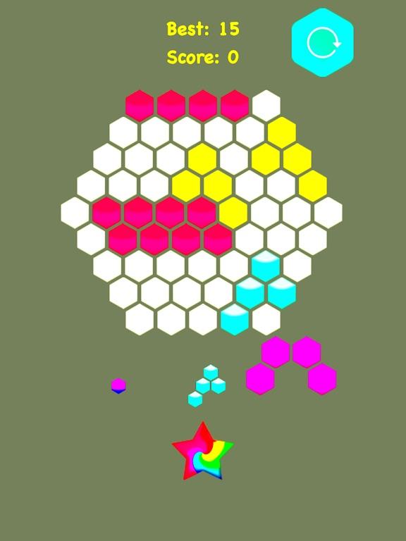 Hexagonal Merge - Premium. screenshot 6