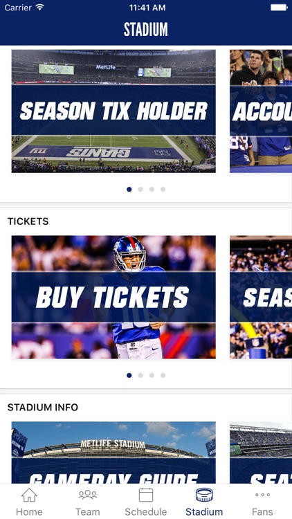 New York Giants Mobile screenshot-3