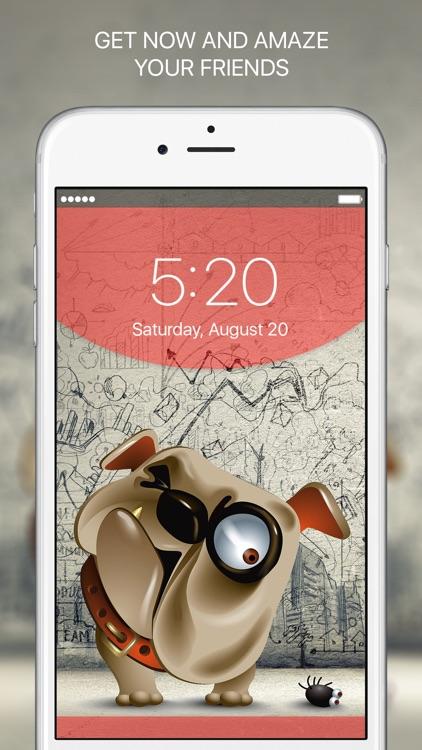 Lucky Locky - Cool themes & Lock screen wallpapers screenshot-4
