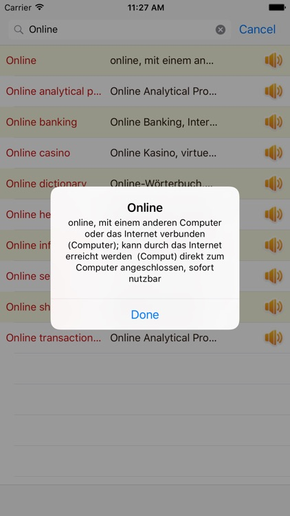 English German Dictionary Offline Free screenshot-0