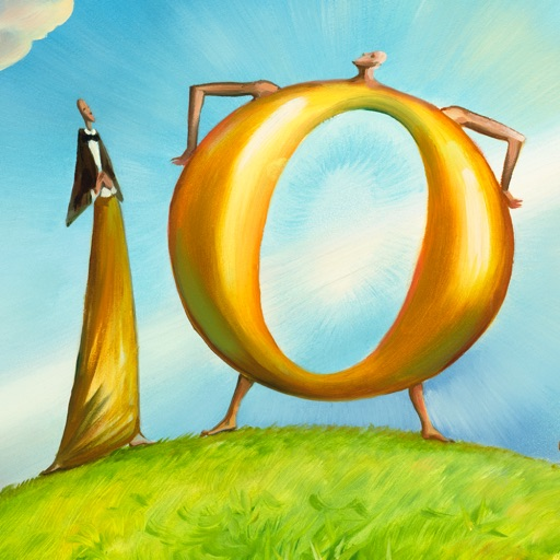 1 and 0 - Art by Vladimir Kush