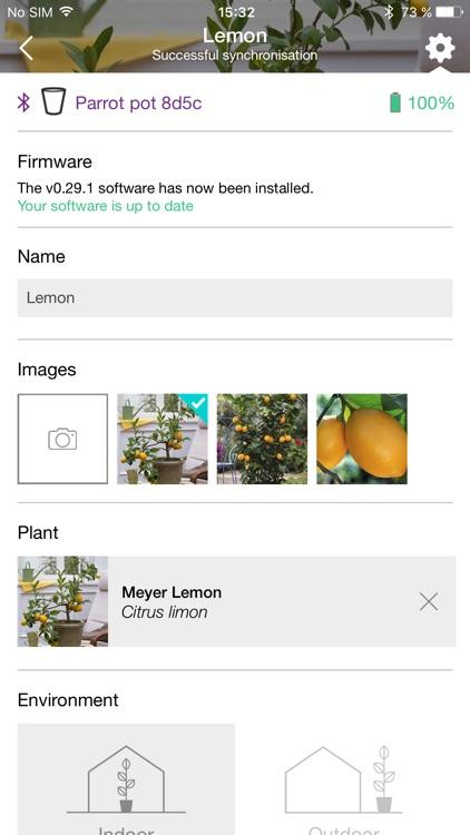 Parrot Flower Power screenshot-4