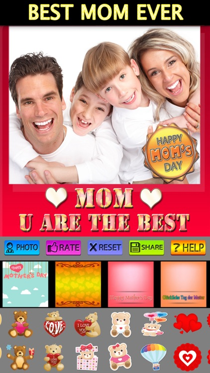 Mother's Day Frame + Sticker screenshot-4