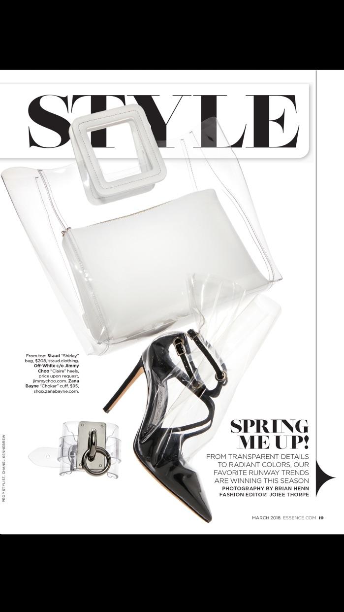 ESSENCE Magazine Screenshot