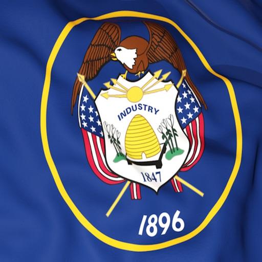 Utah Flag Stickers