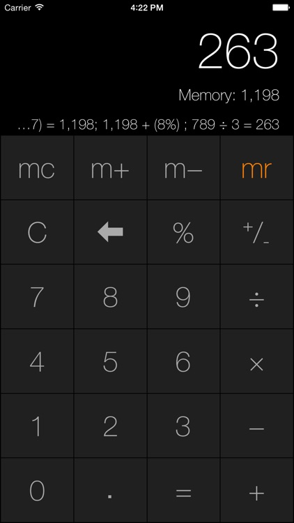Desk Calc screenshot-2