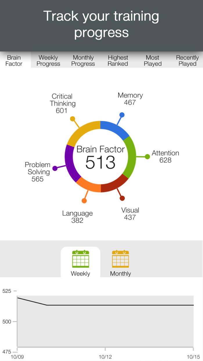 Brainwell Mind Brain Training Screenshot