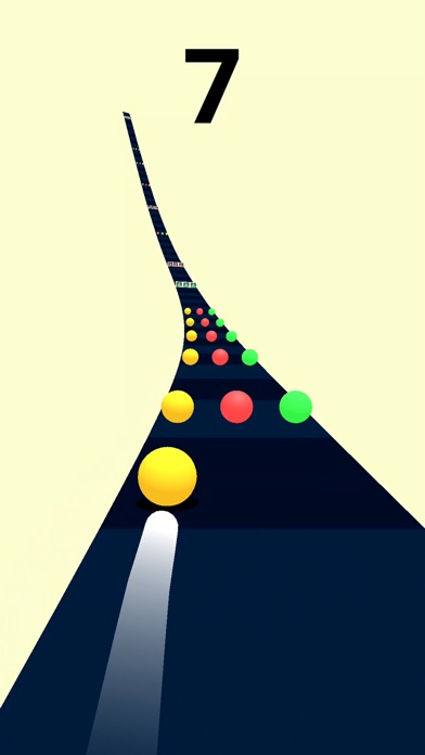 Screenshot for Color Road! in United States App Store