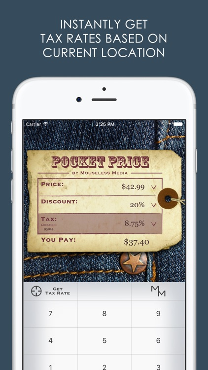 Pocket Price - Discount and Sales Tax Calculator