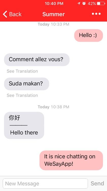 WeSayApp - share, meet, chat screenshot-3
