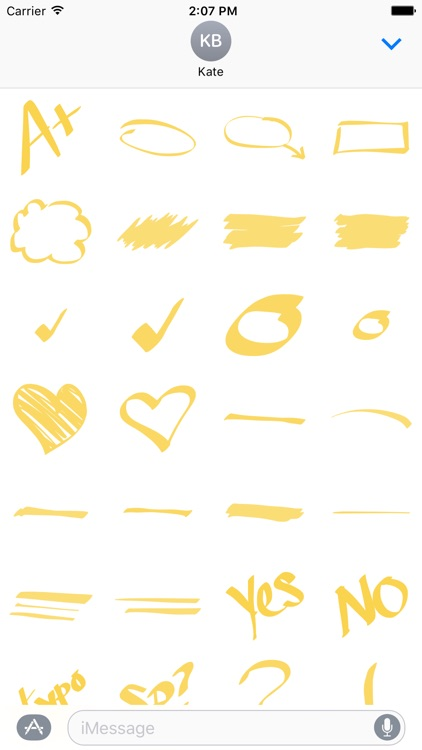 Highlighter And Marker - Ultimate Sticker Pack
