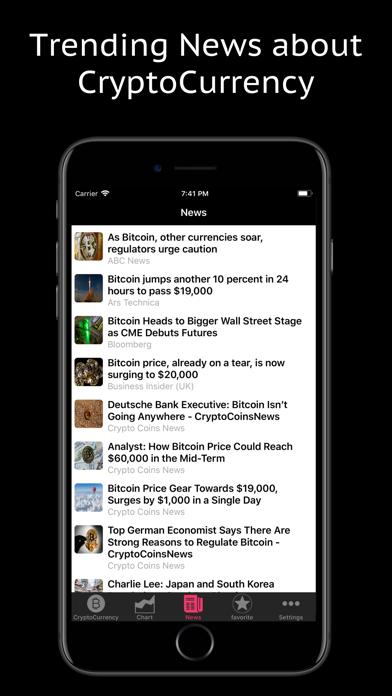 Crypto Tracker Pro Screenshots