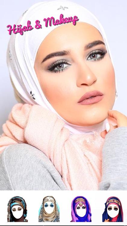 Hijab Style.s & Makeup Frame.s - Muslim Dress Up