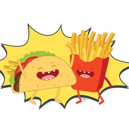 Funny Food Sticker Pack