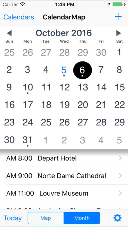 CalendarMap screenshot-4