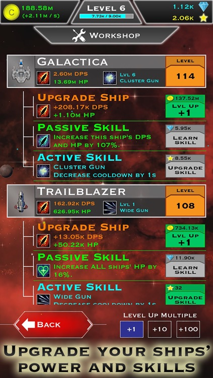 Click and Conquer: Space Age - Idle Shooter screenshot-3
