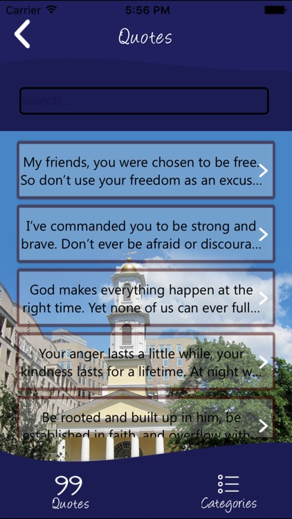 All Open Bible Quotes
