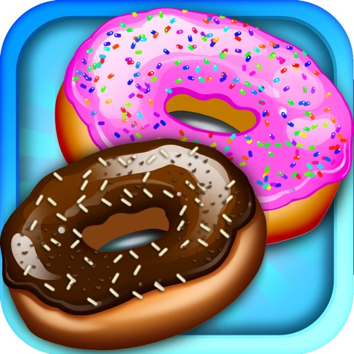 Awesome Ice Cream Donut Maker Cake Baking Dessert icon
