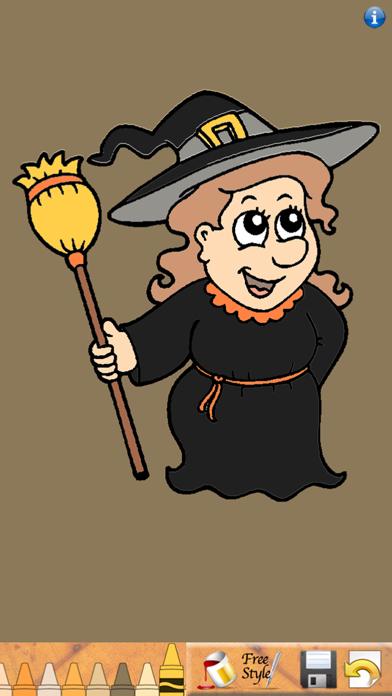 ¡Libro para colorear de Halloween!Captura de pantalla de1