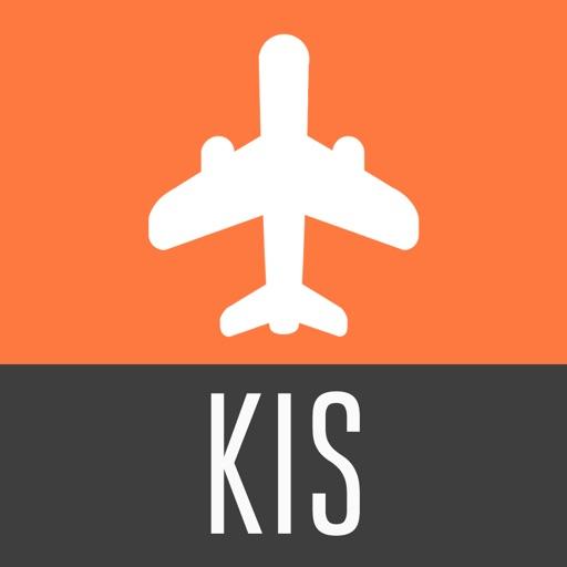 Kisumu Travel Guide with Offline City Street Map