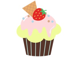 Come on, these are cupcake stickers