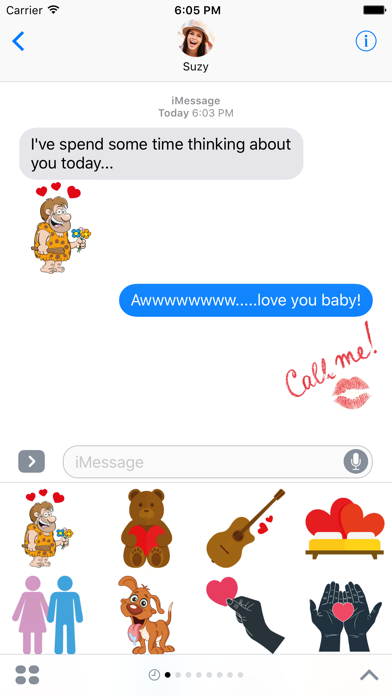 Couples - Passionate Stickers for iMessage screenshot one