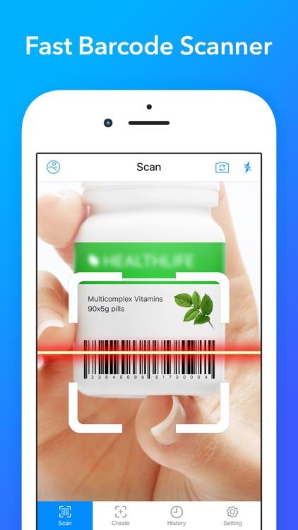 QRDR - QR Code Reader & Barcode Scanner