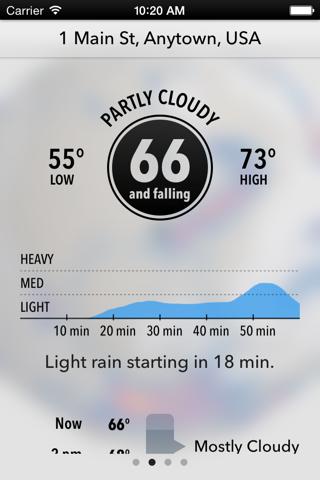 Dark Sky Weather screenshot 1