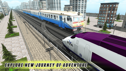 Racing In Trainのおすすめ画像1