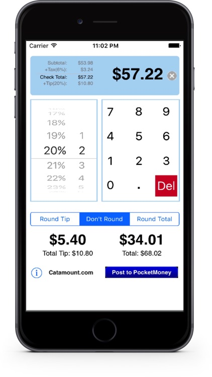 CheckPlease Lite - Tip Calculator