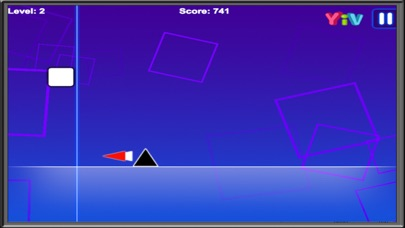 Impossible dash up Game : Square Runners screenshot two