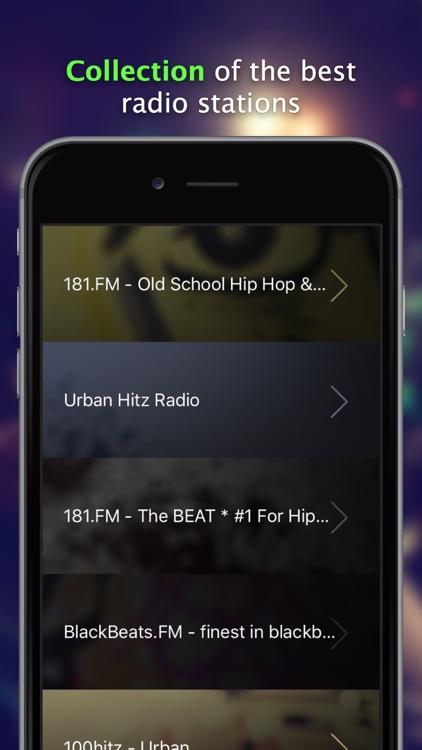 Radio Hip Hop - the top internet radio stations 24/7